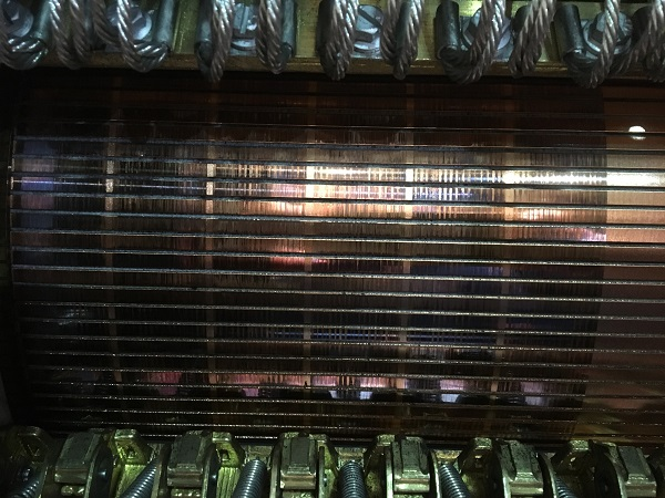 Streaks on a commutator, can be caused by low brush current density and high humidity.